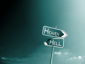 Sign Heaven Hell