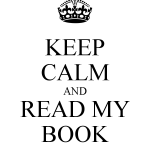 keep calm and read my book
