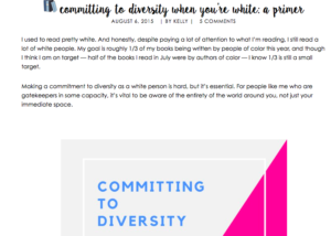 Committing to Diversity