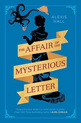Book cover of The Affair of the Mysterious Letter