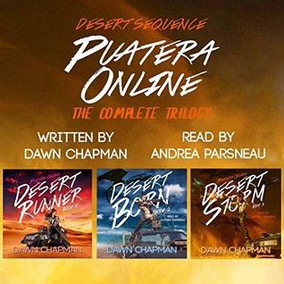 Covers of Desert Runner, Desert Born, and Desert Storm