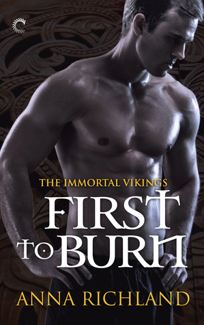 The cover of First to Burn