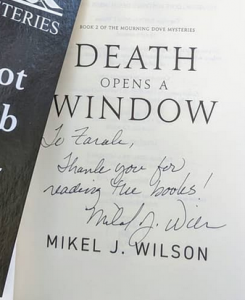 death opens a window signed
