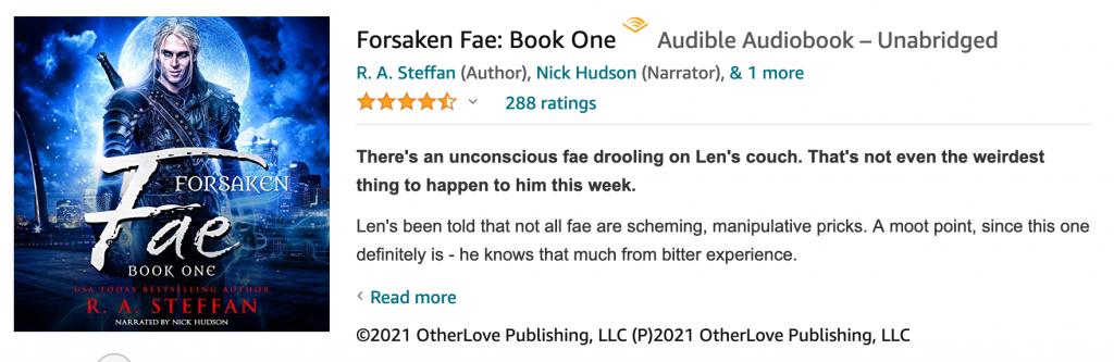 forsaken fae book one
