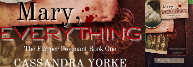 mary, everything banner