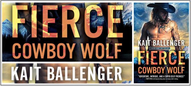 fierce cowboy wolf banner