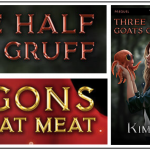 Book Review: Three Half Goats Gruff & Dragons Don't Eat Meat, by Kim McDougall
